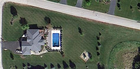 satellite view of house now you
