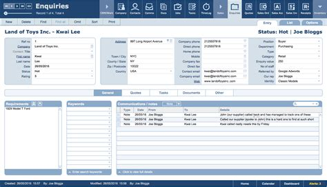 filemaker crm template filemaker crm customer vendors process management