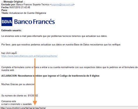 banco frances argentina phishing al banco frances argentina segu info