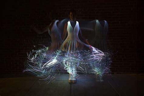 Dress Glow Violin glowing fiber optic dresses fiber optic dress