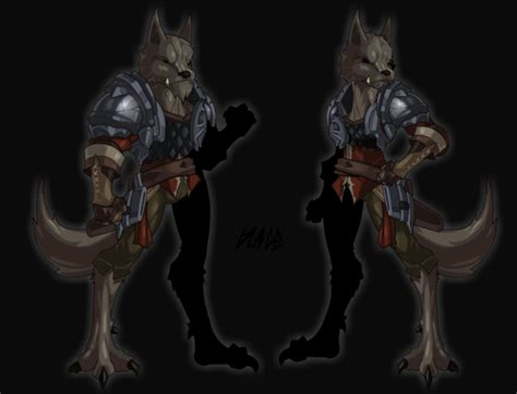 Lycan Set By Chiruka Shop aqw daily lycan warrior set