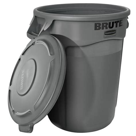 rubbermaid trash shop rubbermaid commercial products brute vented 32 gallon