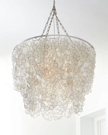 capiz pendant chandelier bernadette 3 light capiz chandelier