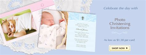 free baptism invitation card maker christening invitations thank you cards keepsakes