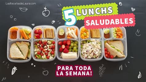 ideas de comidas saludables 5 ideas de lunch para ni 241 os f 193 cil y r 225 pido back to