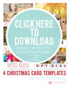 12 free 2012 christmas card photoshop templates amp overlays