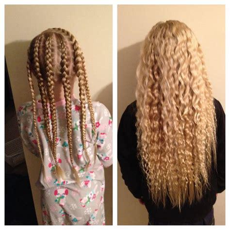 how to make box braids look wavy best 25 overnight braids ideas on pinterest