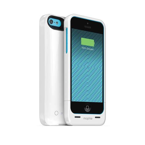 iphone 5c mophie mophie juice pack helium for iphone 5c gloss white 2661 b h