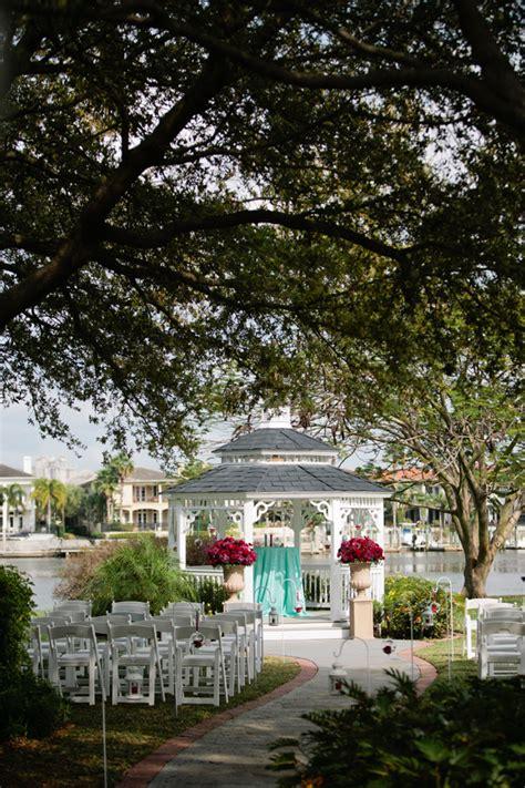 Davis Island Garden Club by Davis Islands Garden Club Vintage Wedding Blue