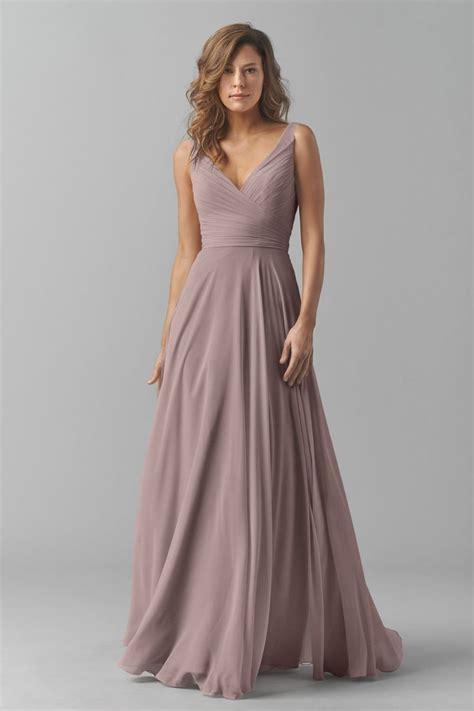 Shop Watters Bridesmaid Dress   8542i in Crinkle Chiffon