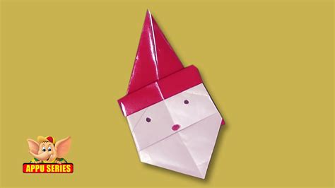 Origami Arts And Crafts - arts and crafts origami origami make a santa