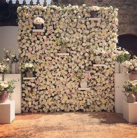 Wedding Background Wall the 2015 wedding trend 22 flower wall backdrops