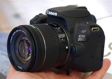 Kamera Canon Eos 2 Jutaan canon eos 200d kamera dslr berdesain mungil