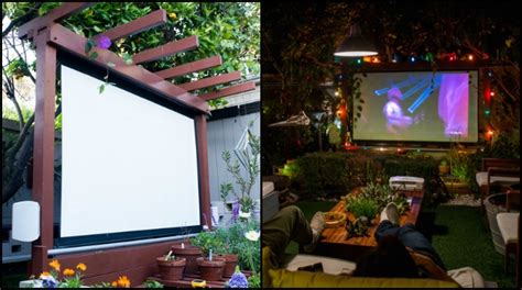 backyard movie theater systems entertainment to your backyard by building an outdoor