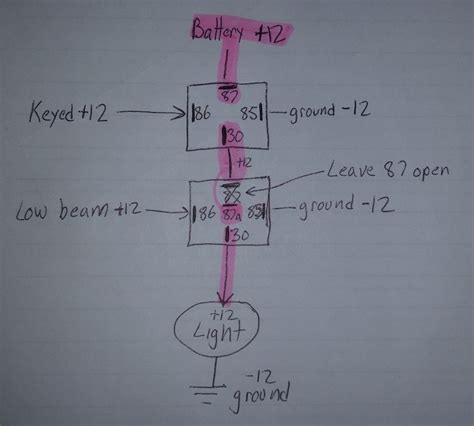 driving light wiring diagram toyota hilux wiring diagram and