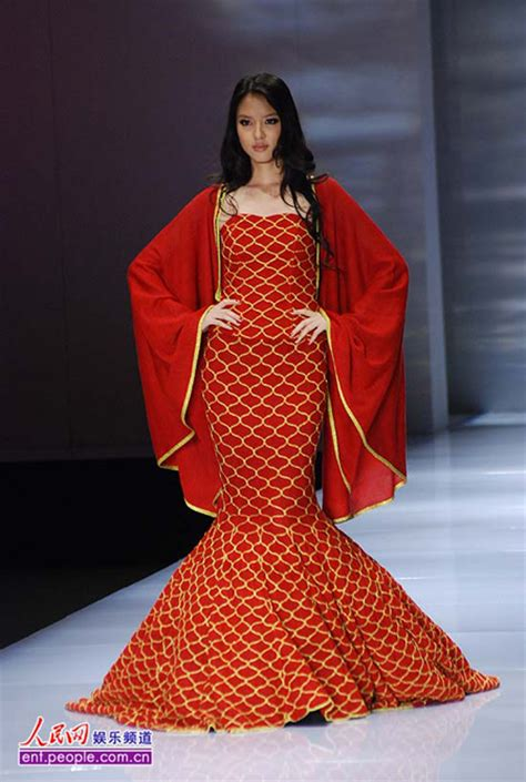 Miss World Wardrobe by Miss World Zhang Zilin Shines At Fashion Show In Mermaid Dress