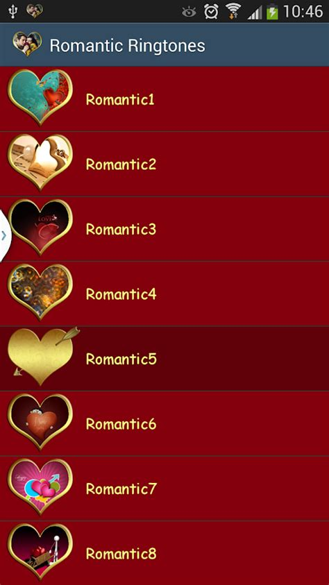 romantic theme android apps on google play romantic ringtones android apps on google play