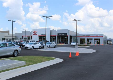 Toyota Dealerships In Alabama Reinhardt Toyota Commercial Door Products Installation