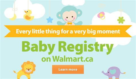 Walmart Gift Registry Baby Shower by Walmart Canada Announcing Our Baby Registry Milled