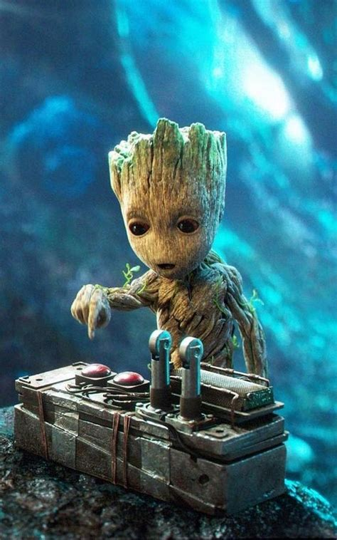 baby groot wallpaper art  android apk