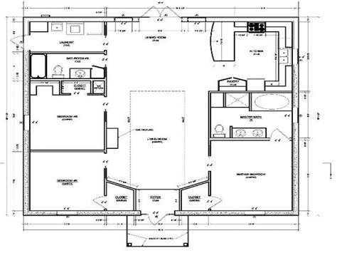 cabin style floor plans very characteristic cottage style house plans house