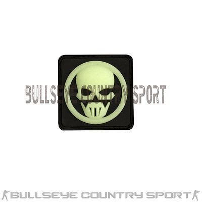 Patch Pacth Rubber Tactical Velcro Airsoft Target rubber ghost recon patch glow in the swat