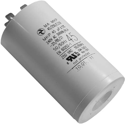 45uf run capacitor new edwards 45uf start capacitor for rv3 rv5 rv8 rv12 vacuum motors motor