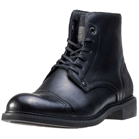g boots mens g warth mens ankle boots in black