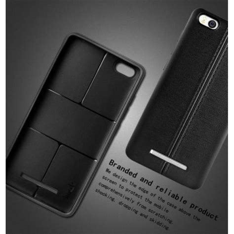 Imak Leather Flipcase Xiaomi Mi4 jual imak leather back xiaomi mi4i black free