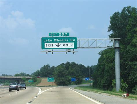 Interstate 40 West - Wake County - AARoads - North Carolina Avent Ferry