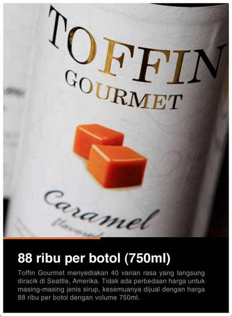Toffin Caramel Sirup By Opka toffin gourmet cikopi