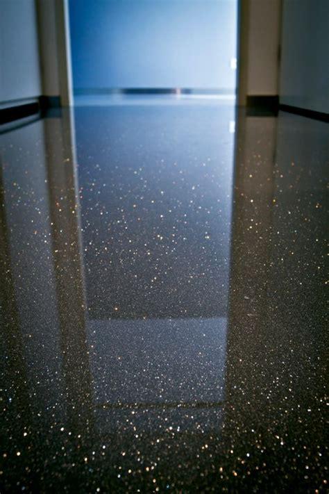 gietvloer met glitters vloer inspiratie pinterest