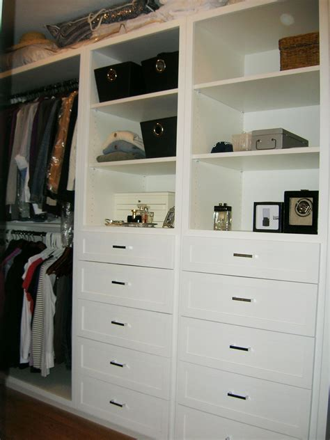 closet storage like the drawers and shelves home ideas