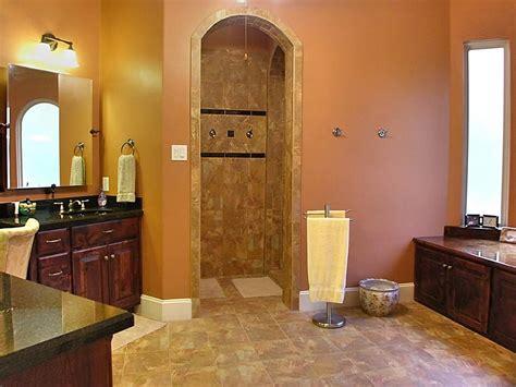 Walk In Shower Designs No Door Compact And Accessible Bathroom Ideas With Walk In Showers With No Door Homesfeed
