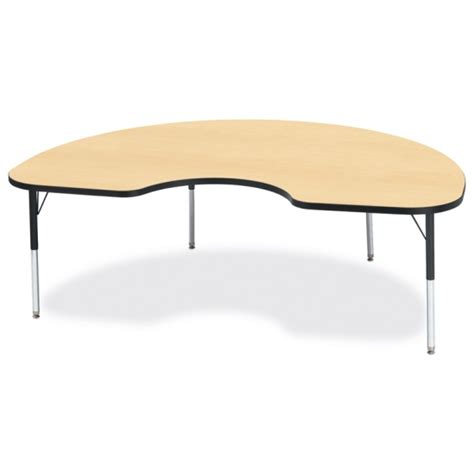 kidney shaped table kidney shaped tables ridgeline appleschoolsupply