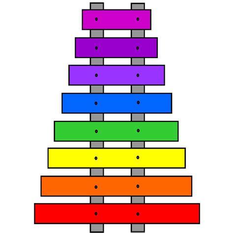 Colourful Basic Clip clip basic shapes xylophone b w abcteach