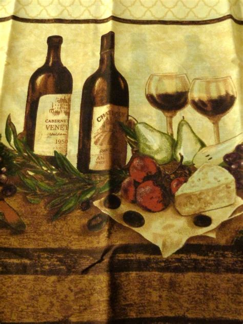 wine bottle curtains kitchen tuscan wine bottles glasses vino kitchen curtains set