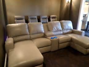 Window Treatment Ideas For Bathrooms Long White Leather Sofa With Light Green Cushions Placed