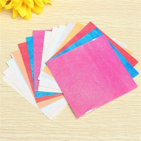 Solid Color Origami Paper - new 20 sheets colorful square origami folding paper solid