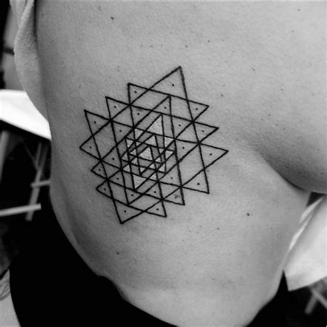 sri yantra tattoo sri yantra tattoos and the of the three worlds