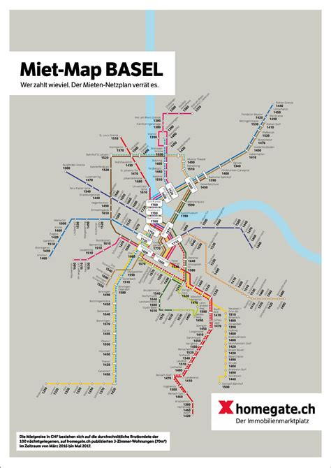 Wohnung Mieten In Basel Stadt by Wer Zahlt Wieviel F 252 R Die Wohnungsmiete In Basel Homegate Ch
