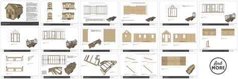 Free Cabin Plans by Tiny House Plans Tiny Home Builders