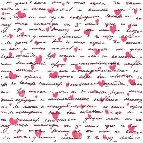 handwriting pattern wallpaper love letter seamless background with handwritten text