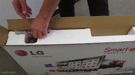 80 Inch Tv Unboxing by Lg Smart Tv 32la6608 Unboxing