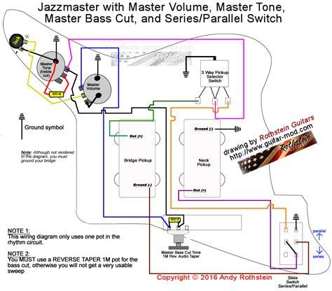 rothstein guitars jazzmaster wiring seriesparallel