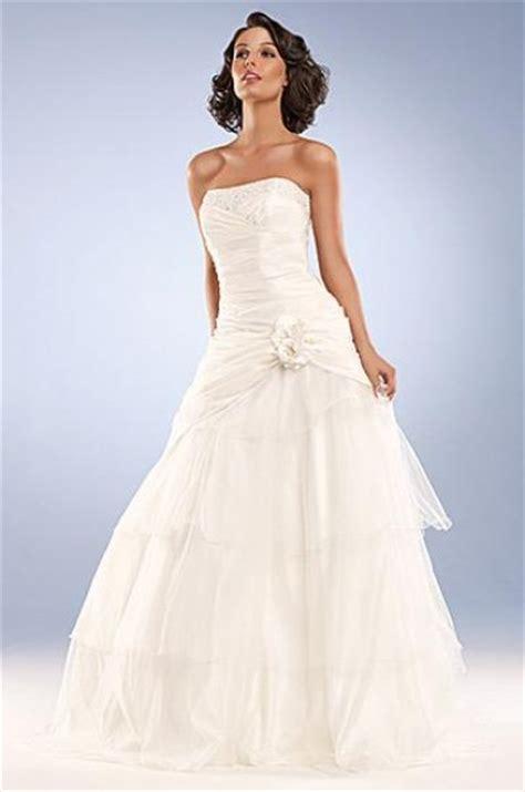 strapless princess wedding dresscherry