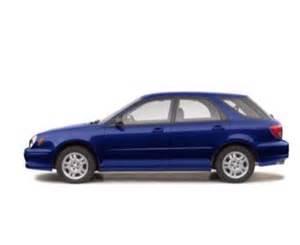 2002 Subaru Wrx Specs 2002 Subaru Impreza Wrx 4dr All Wheel Drive Station Wagon