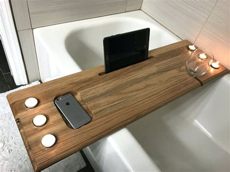 cool bathtub ideas tub caddy reclaimed wood bath tray cablecarchic interior design cool bathtub