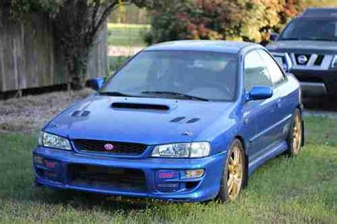 how to sell used cars 1997 subaru impreza interior lighting purchase used 1997 subaru impreza coupe awd 2 5 rs jdm wrx sti world rally blue pearl in wendell