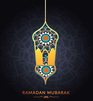 design background ramadan background ramadan mubarak vector design set free vector